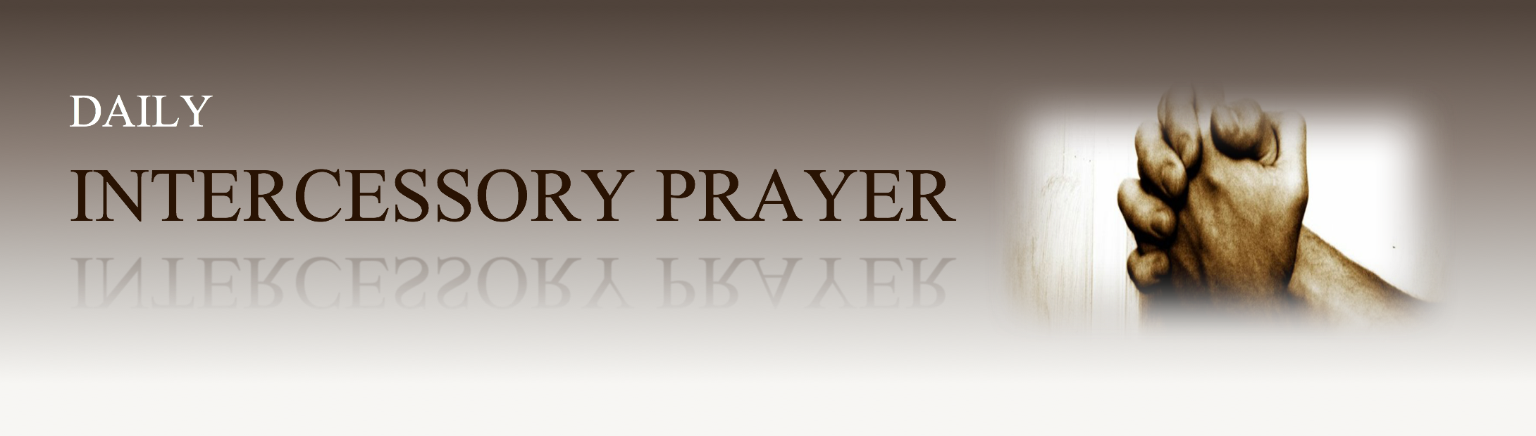 Benefits of intercessory prayer